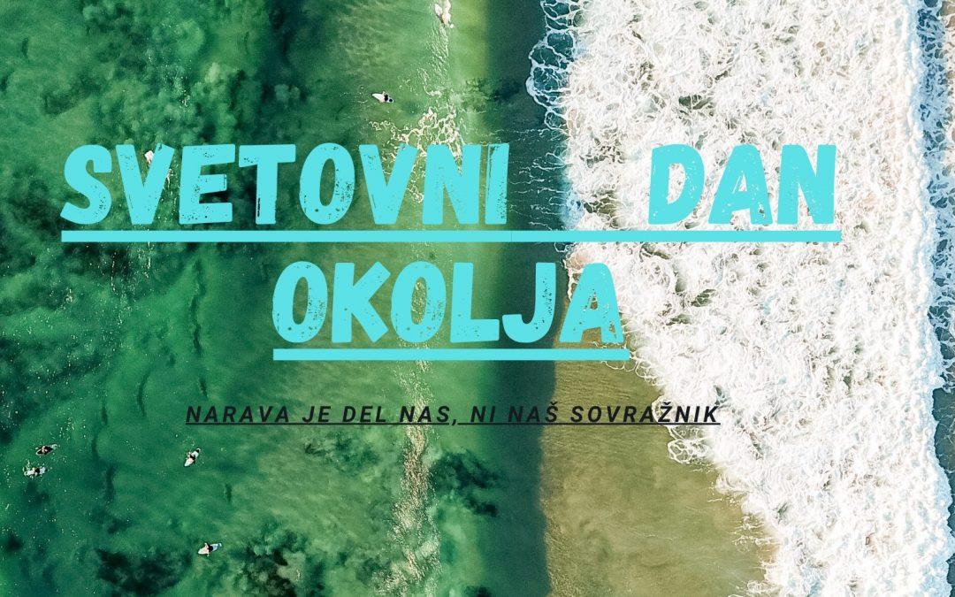 5. junij –  svetovni dan okolja