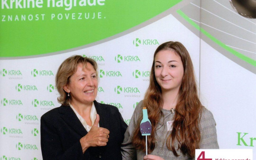Kaja Klemenc izbrana za mednarodno tekmovanje mladih raziskovalcev