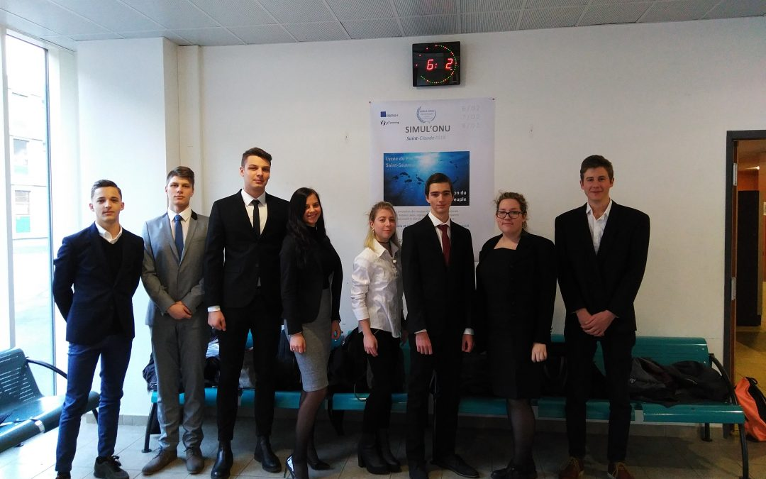 Pozdravček s srečanja v okviru Erasmus+ projekta Simul'ONU 2018