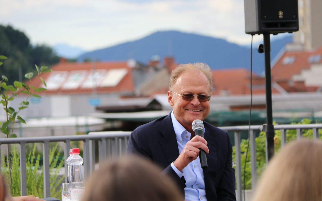 Pogovorni večer z  Janezom Škrabcem, managerjem leta 2017
